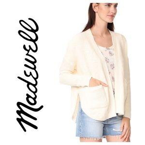 Madewell Cream Skipper Cardigan Sweater